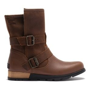 NEW SOREL MAJOR MOTO GRIZZLY BEAR BROWN BOOTS